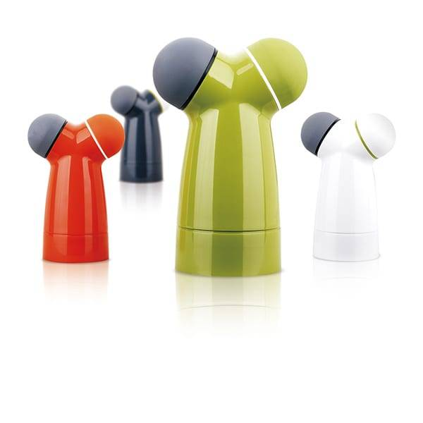 Factory Customized Plastic Pepper Mill Grinders Acrylic Salt And Pepper Mill