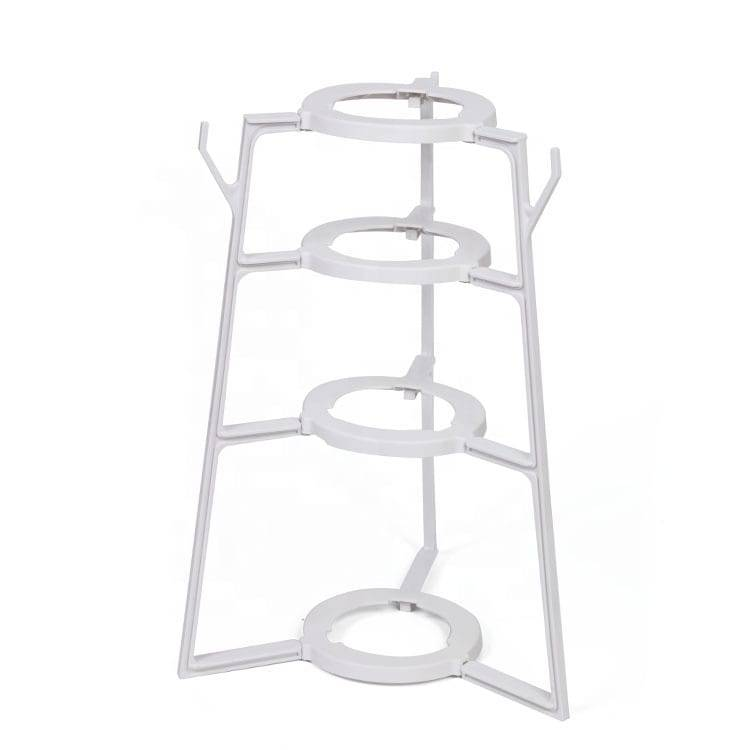 Plastic shelf Pot rack flower rack plastic Kitchen rack Featured Image