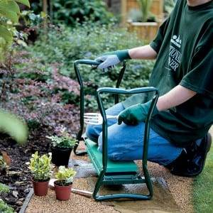 قابل حمل مدفوع EVA Pad Foldable Garden Kneeler and Seat
