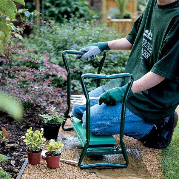 Portable Stool EVA Pad Foldable Garden Kneeler and Seat Featured Image