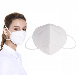 Reusable KN95 Face Shield Masks with Concealed Adjustable Nose Clip