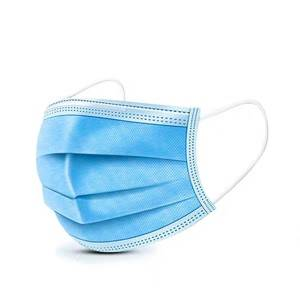Wholesale Cheap Sterile EO 3 ply Non-woven Disposable Medical Surgical Face Mask