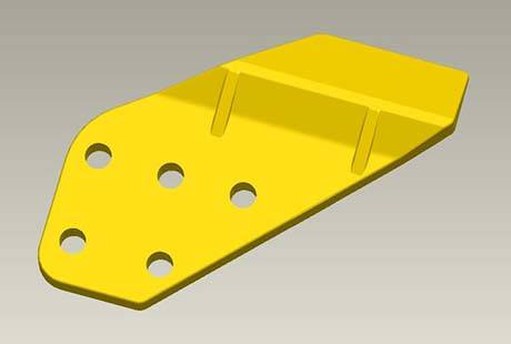 Wholesale Discount Hydraulic Backhoe/small Backhoe Loader - komatsu PC300 knife plate – Yi Teng