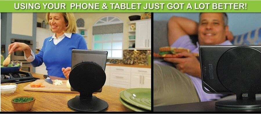 mobile phone table holder c