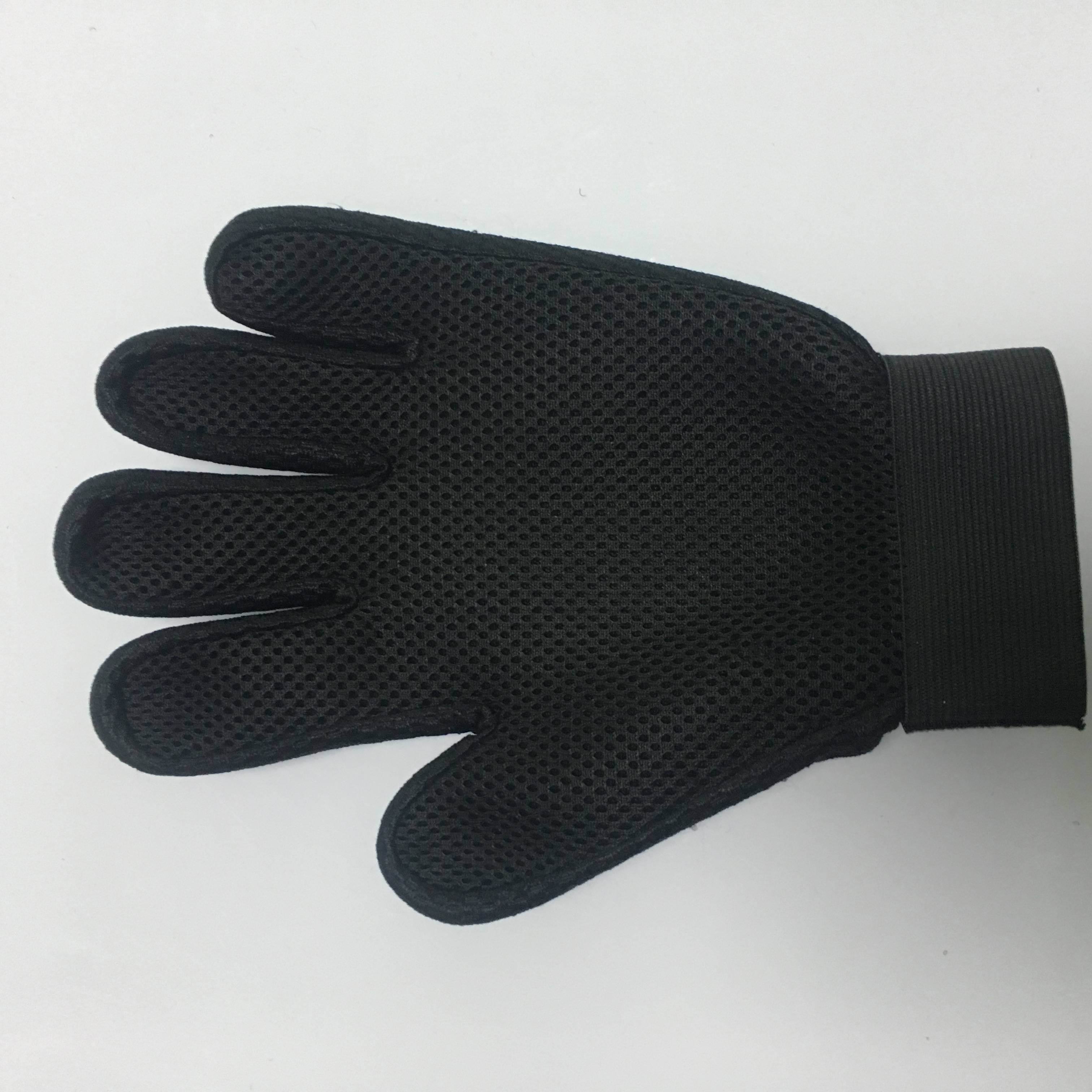 Hair Remover Glove Dog Grooming