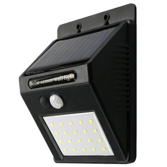 China Solar Powered Led Wall Light Factory And Suppliers