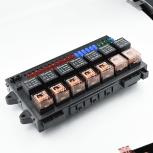ZT303  control box for fuses and relays