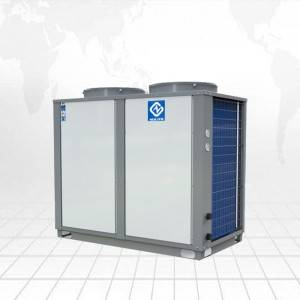 35KW EVI heat pump for heating cooling model NERS-G10KD