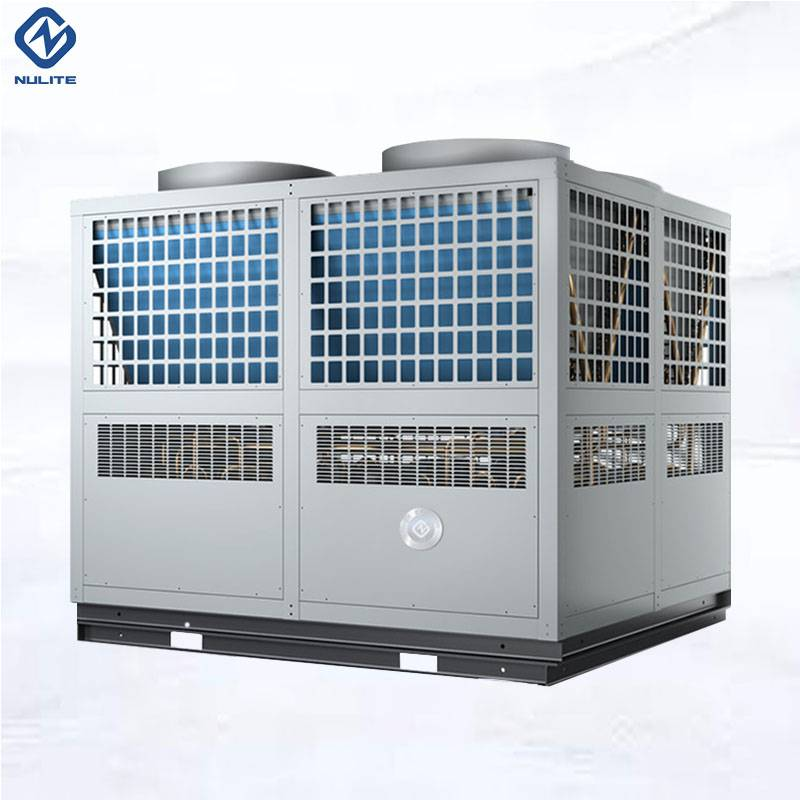 In the cold winter, farmers friends were busy using air heat pumps to heat poultry and livestock.