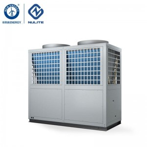 -25c work 72kw mono block EVI Air Source Heat Pump water heater model NERS-G20D