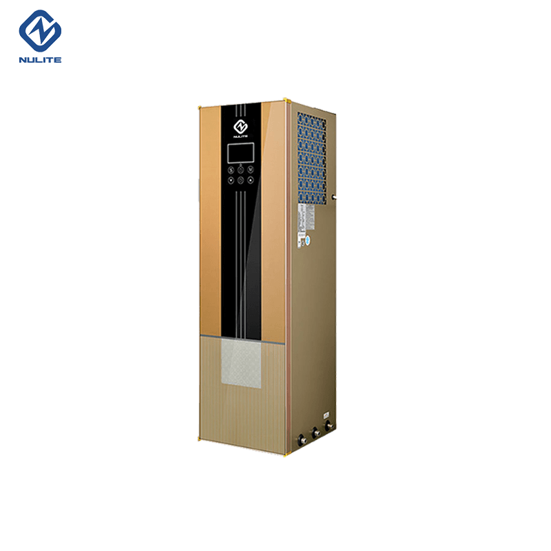 New Fashion Design for Air Cooling Source Heat Pump -
