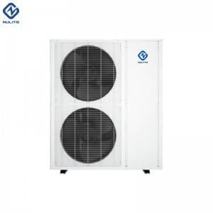 Factory Price For Low noise super low temperature 240v air source heat pump 36kw, dc inverte evi heat pump split
