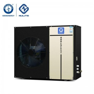 -25c work 10.4kw mono block EVI Air Source Heat Pump water heater model B3S-D