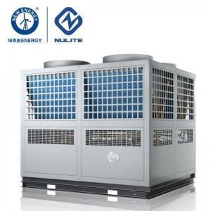 -25c work 140kw mono block EVI Air Source Heat Pump water heater model NERS-G40D