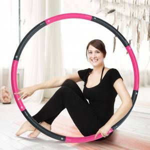 Walk Diary Hot Waist Hula Hoop – Hula Hoops for Adults,  Wave Ergonomic Designed Hula Hoop WH031