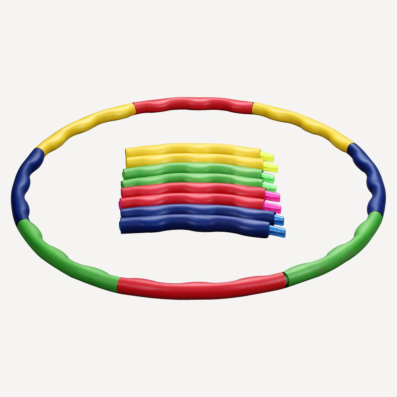 Detachable Adjustable Weight Size Plastic Kid Hoola Hoop, Suitable as Toy Gifts WH-011 Featured Image