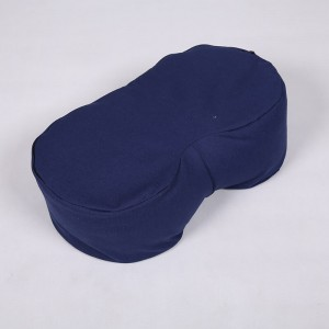 U-shape Meditation Cushion filled with Buckwheat Hulls