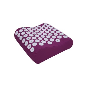 China supplier good quality cotton nail head neck pain relief acupressure massage pillow