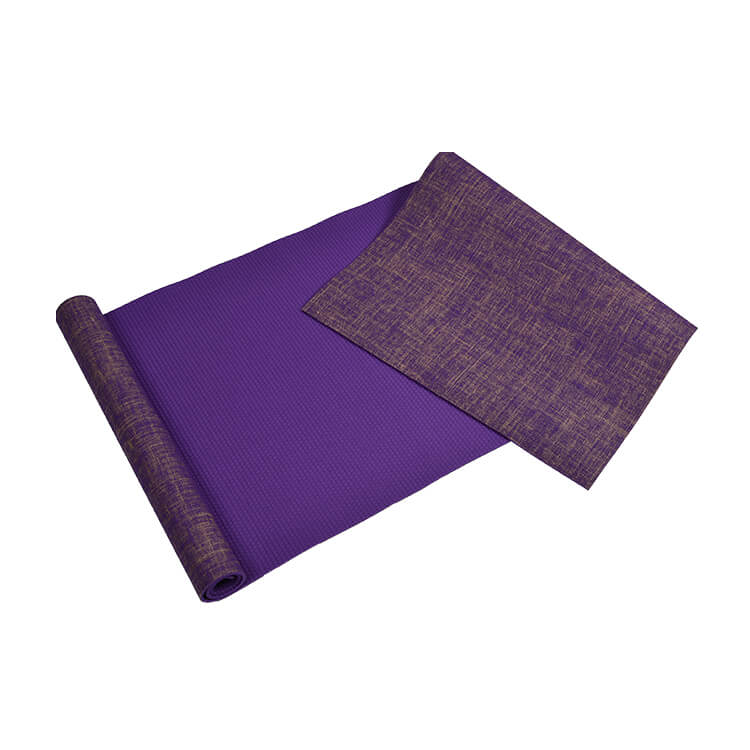 China Hot Selling Yoga Mat Towel Rebel Sport Eco Friendly Natural Jute Fiber Premium Yoga Exercise Mat Large Non Slip Neh Manufacturer And Supplier Neh