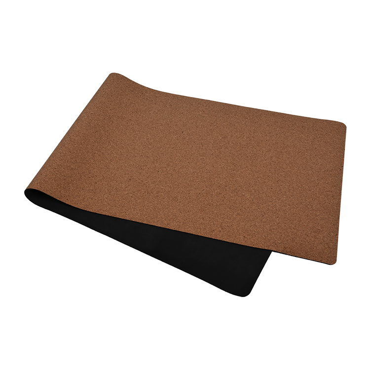 China Hot New Products Manduka Yoga Mat Reddit Eco Friendly Natural Rubber Cork Yoga Mat With Non Slip Suede Fabric Premium Exercise Fitness Mat For All Types Of Yoga Neh