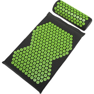 Eco-friendly and Durable Acupressure Mat and Pillow Set Product for Massage