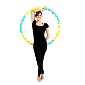 Exercise massage weight hoop,magnetic massage hula hoop,cheap weight hoop 1.3KG  WH007