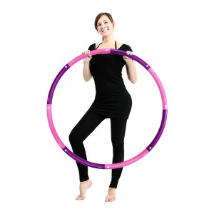 Hula Hoop for Adults,Lose Weight Fast by Fun Way to Workout,Easy to Spin, Premium Quality and Soft Padding Hula Hoop,with Free Accessory Skipping Rope