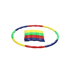 Hula Hoop for Kids, Detachable Adjustable Weight Size Plastic Kid Hoola Hoop, Suitable as Toy Gifts, Hula Hoop Game, Indoor & Outdoor Games, Boys & Girls