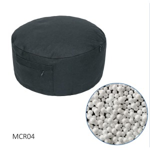 Large Ultra Lightweight Black Zen Yoga Meditation Cushion