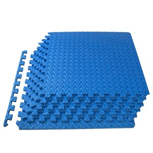 Puzzle Exercise Mat with EVA Foam Interlocking Tiles for Exercise, Gymnastics and Home Gym Protective Flooring