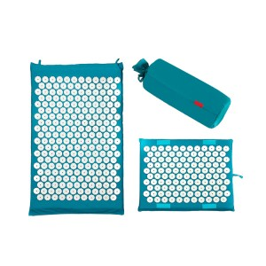 Regular acupuncture mat and pillow set natural ...
