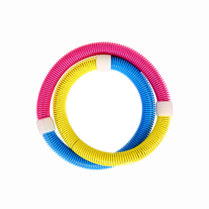 Soft Spring Hula Hoop for Adults, Fitness Exercise Weighted Hula Hoop Weight Loss Fitness Hula Hoop for Exercise Workout  WH-008