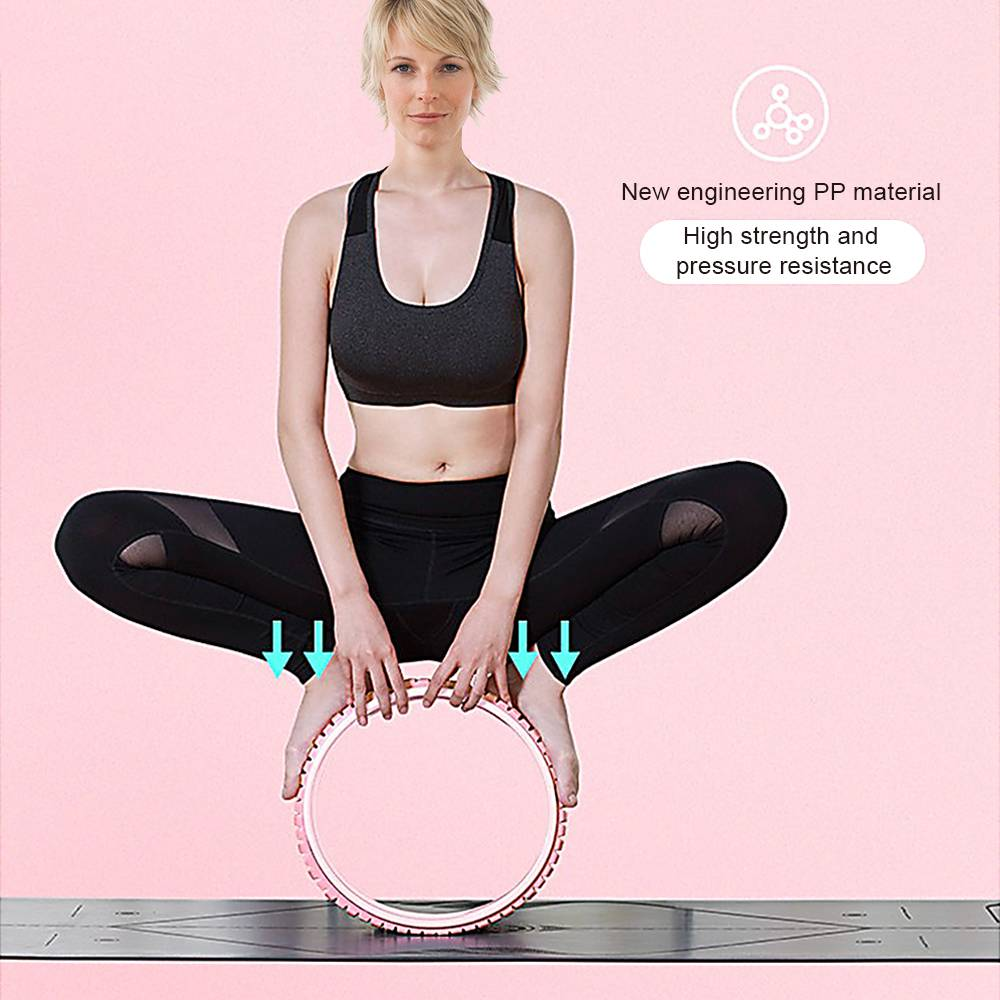 China Yoga Wheel Roller for Back Pain, Stretching, Improving ...