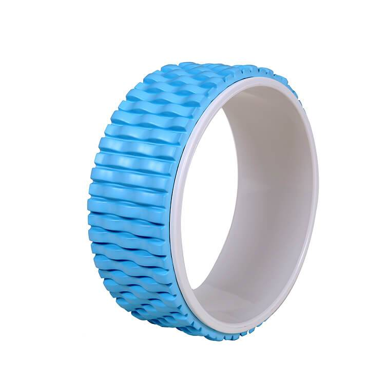 Yoga Wheel Roller for Back Pain, Stretching, Improving Flexibility and Backbends