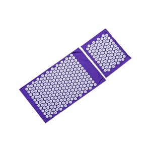 Wholesale Private Label Acupressure Foot Mat and Pillow Set without Sponge