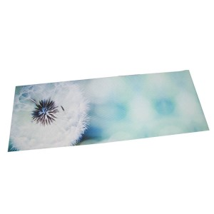 Eco friendly anti-slip digital printed PVC yoga mat