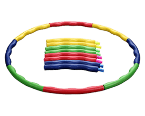 Detachable Adjustable Weight Size Plastic Kid Hoola Hoop, Suitable as Toy Gifts WH-011