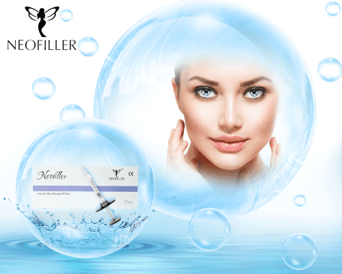 Fine hyaluronic acid filler