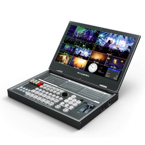 AVMATRIX PVS0615 6 Channel Multi-format Video Switcher with 15.6 inch FHD Display
