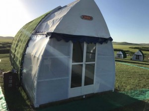 Covid-19 Coronavirus Field Hospital Emergency Shelter Isolation House
