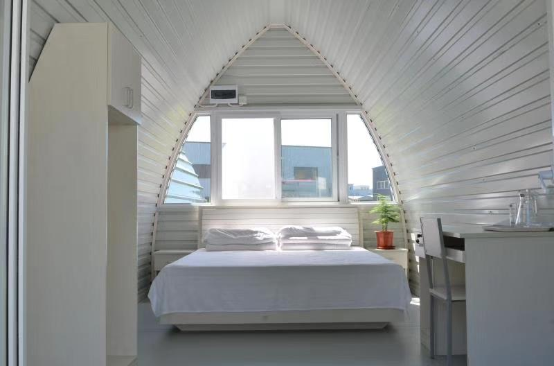 Camping pod/Modular arched cabin/Cheap prefab homes for sale Featured Image