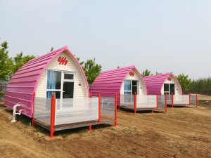 Modular Prefab House-Mobile Coffee Shop-Leisure Hut