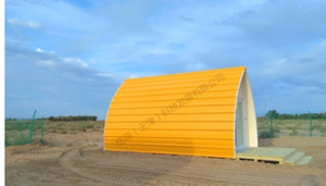 Economical Beach Hut