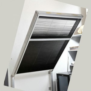European standard aluminum screen frame skylight roof window