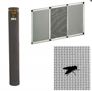18*16 cheap price 110g Fiberglass insect net window screen netting