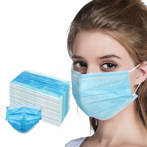 Good quality 3 layers disposable face masks with earloop