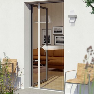 Retractable Rolling Insect Mosquito Fly Screen Net Door