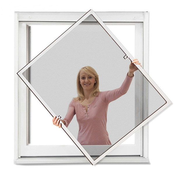 Aluminum fixed insect screen window,home life window with glass fiber mesh Featured Image