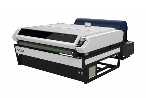 Single Head / Double Head Laser Cutting Machine with Conveyor System
