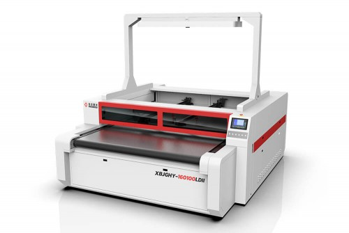 Double Head Asynchronous & Smart Vision Camera Laser Cutting Machine